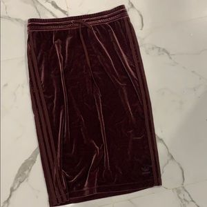 Adidas Velvet Skirt